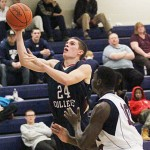 Strong Second Half Helps Lyon Men Top MBU, 73-69
