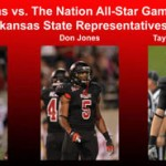 Three Red Wolves to Compete in Texas vs. The Nation All-Star Game
