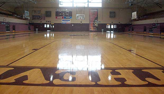 Inside The Blytheville Gym