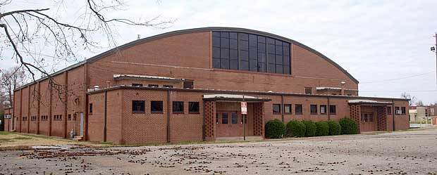 Exterior Of The Blytheville Gym