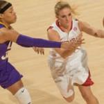 Lady Razorbacks Win First SEC Basketball Game Over LSU Tigers