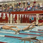 Razorback Swimming and Diving Team Effort Upsets No. 12 Penn State