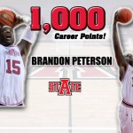 Brandon Peterson of the ASU Red Wolves Reaches 1,000th Point Mark