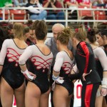 Promotions for Razorbacks Gymnastics Denver meet