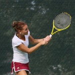 UALR Tennis Battles UA-Fort Smith Wednesday Afternoon