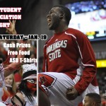 ASU Student Appreciation Night This Saturday