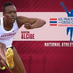 Alcide of Razorbacks Track Team Named National Athlete of the Week