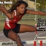 Nelvis of the Red Wolves Track Team Named Sun Belt Track Athlete of the Week