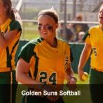 Golden Suns Softball Team Picked Seventh in GAC Preseason Poll