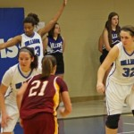 Lady Eagles Win Third Straight AMC Contest