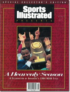 Nolan Richardson wins the 1994 NCAA Tournament by Sports Illustrated