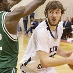 Belew sets all-time block mark in Lyon setback to HLG, 73-70