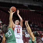 North Texas Snaps Lady Red Wolves Seven-Game Streak