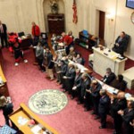 Red Wolves Football Team Honored By State Assembly