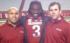 Arkansas Razorback Alex Collins