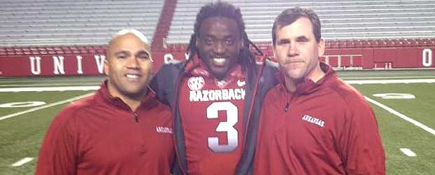 alex collins arkansas jersey