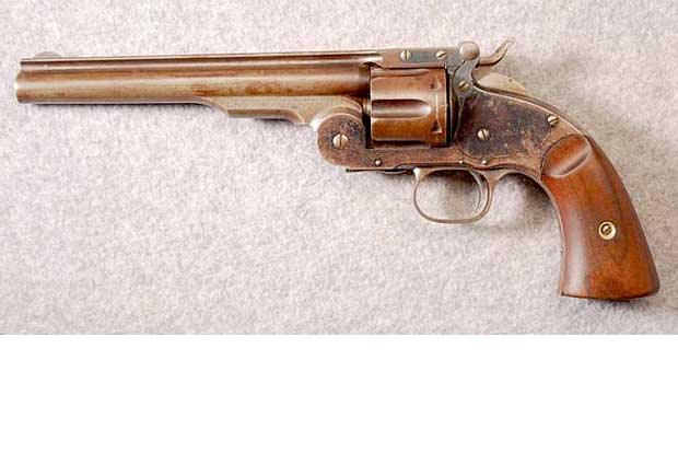 Antique Revolver 01