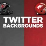 Razorback and Red Wolves Twitter Backgrounds