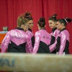 Arkansas Razorbacks Gymastics Hosts Alabama