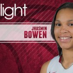 Jhasmin Bowen of the University of Arkansas Women's Basketball Team Breaks Out