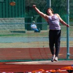 Belt's Shot Put Win Highlights Trojans Day at Valentine Invite