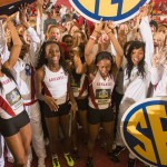Relay Wins Clinches SEC Indoor Team Title for Lady Razorbacks Track