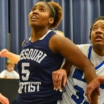 Lady Eagles Beat Mobap, Aim to Host AMC Tournament Basketball Game