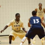 Hammond's Three Secures Win For Golden Lions Basketball