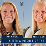 Armstrong and Bigej Help Bears Sweep SLC Honors