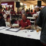 van horn at fan day