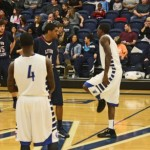 Eagles Complete Basketball Season Sweep of Lyon