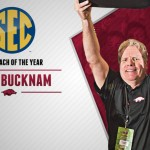 Razorbacks Bucknam Named SEC Indoor Coach of the Year