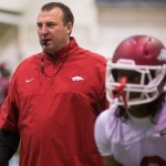 Razorbacks Open Spring Football Practice