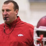 Jim Harris: Razorbacks' Bret Bielema Taking Gamble With Backup QB Situation
