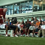 Arkansas Razorbacks Pro Day 2013