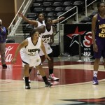 Lady Lions Basketball Gets Past Lady Braves 50-46