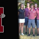 Reddies Golf Team Places Second