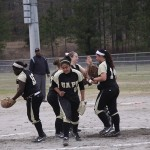Lady Lions Sweep First Day of Series