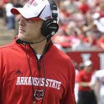 Red Wolves Coach Bryan Harsin Meets the Press