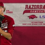 No. 10 Razorbacks Host No. 2 LSU in Top-10 Showdown