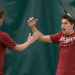 Razorbacks Close Home Tennis Season