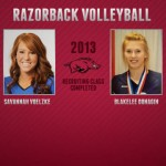 Pulliza Builds Incoming 2013 Razorbacks Volleyball Class to Seven