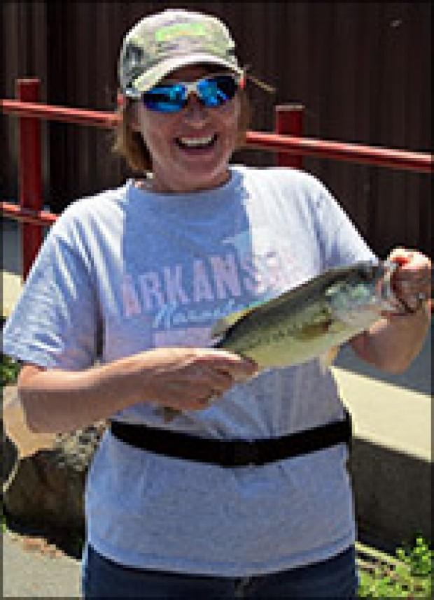 Money fish caught on lake hamilton for Fish for cash