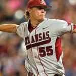 Arkansas Razorbacks Pitcher Ryne Stanek Strikes Again