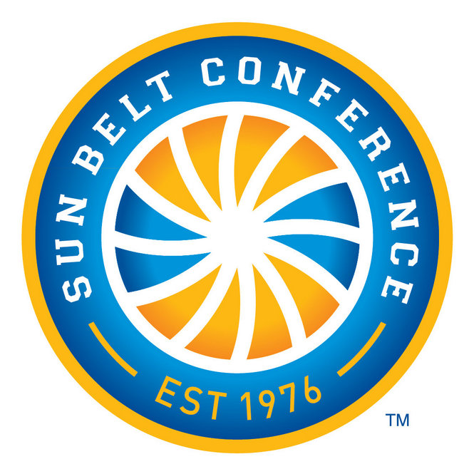 trojans red wolves in sun belt conference tourney new