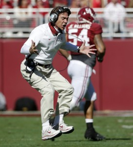 Nick Saban Throws A Hissy Fit