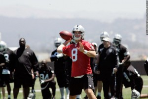 Tyler Wilson at Raiders minicamp 3