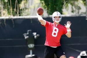 Tyler Wilson at Raiders minicamp 4