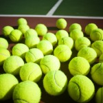Arkansas sports history tennis balls