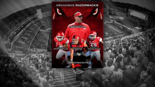 Bret Bielema Arkansas Razorbacks football media cover 2013